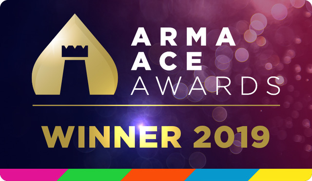 ARMA Ace Winners logo 2019 Brady Solicitors
